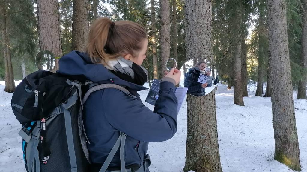 Auf dem Foto-Trail Sörenberg durch die bezaubernde Winterlandschaft
