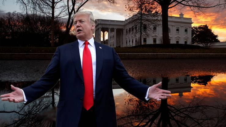 Poor me – Trump bedauert sich selbst und gibt den oppositionellen Demokraten die Schuld.