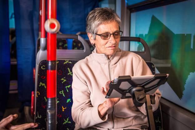 Der Wahlkampfbus in Muri - die Impressionen