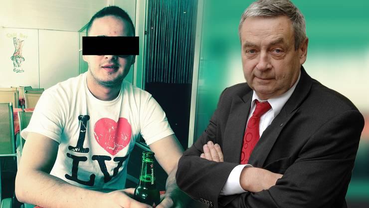 Der erfahrene Strafverteidiger Urs Oswald (rechts) analysiert für die AZ das Urteil gegen den 28-jährigen Kroaten.
