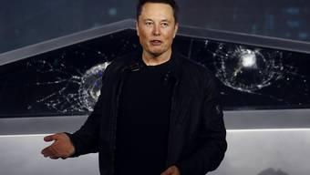 Muss um seine Pläne in Deutschland zittern: Tesla-Chef Elon Musk.