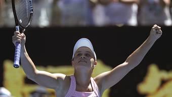 Letzte Australierin im Einzelturnier: Ashleigh Barty