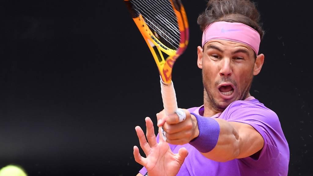 Voller Fokus nun auf den Halbfinal: Rafael Nadal revanchiert sich in Rom bei Alexander Zverev für die Niederlage vor Wochenfrist in Madrid