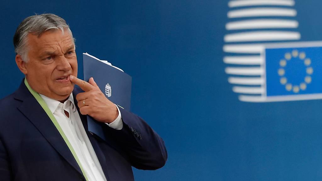 Orban leitet im Streit mit EU Referendum ein