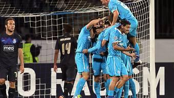 Heimsieg für Zenit St. Petersburg gegen Porto
