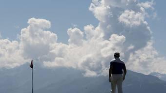 Die einzigartige Atmosphäre auf dem alpinen Golfkurs