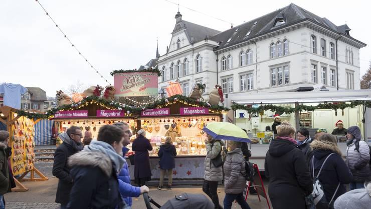 Impressionen vom Christchindlimärt 2018 in Bremgarten.