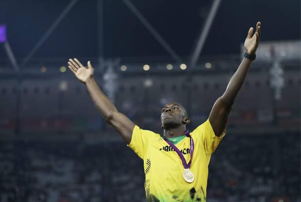 Bolt dominiert die Sprintdisziplinen in London