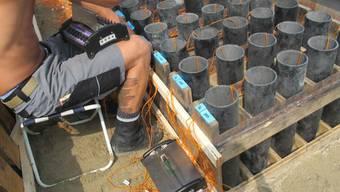 1.August-Feuerwerk: «Kies-Ueli» wird bereit gemacht