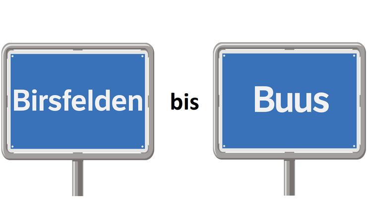 Birsfelden bis Buus