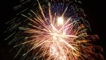 Feuerwerk an der Badenfahrt: Boooom!