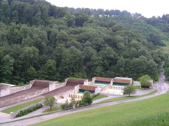 Die zum Waffenplatz Zürich-Reppischtal gehörenden Kurzdistanzboxen nutzen Polizei und Militär für Schiessübungen.