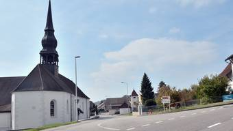 Die Kirchstrasse ohne Linde.