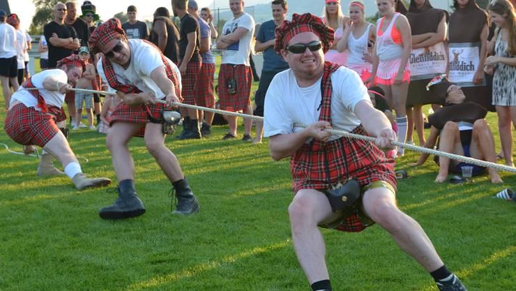 Noch stehen sie, die wackeren Schotten ...