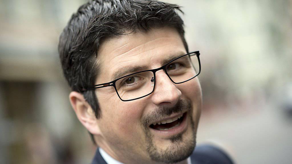 Yannick Buttet will in die CVP-Parteispitze: Als Vizepräsident will er ein Gegengewicht zum voraussichtlichen Präsidenten Gerhard Pfister bilden. (Archivbild)