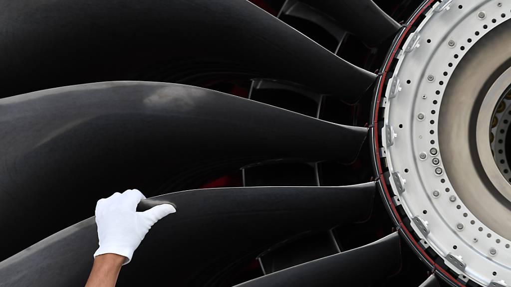 Flugzeugtriebwerke von Rolls-Royce sind in der Airline-Krise nicht gefragt. (Archivbild)