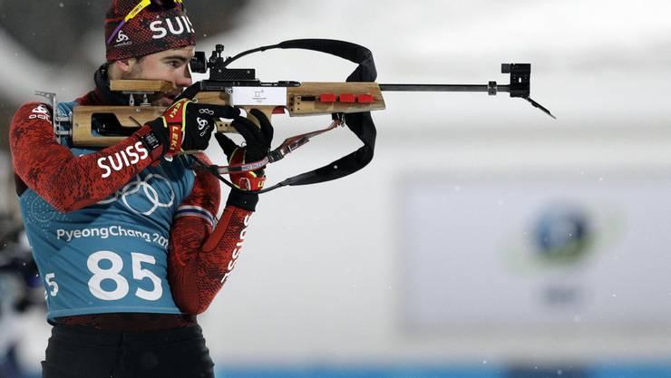 Mario Dolder, Biathlon