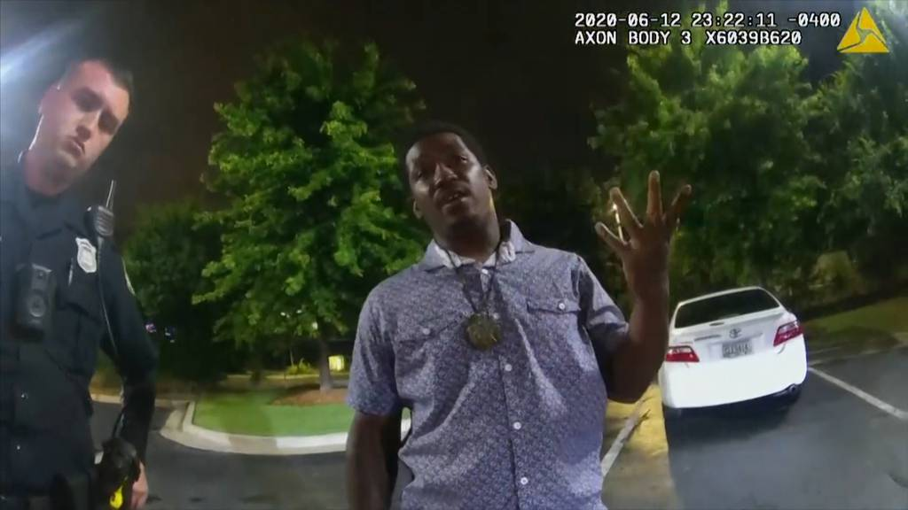 Schwarzer in Atlanta von US-Polizei getötet: Was vor den Schüssen passierte