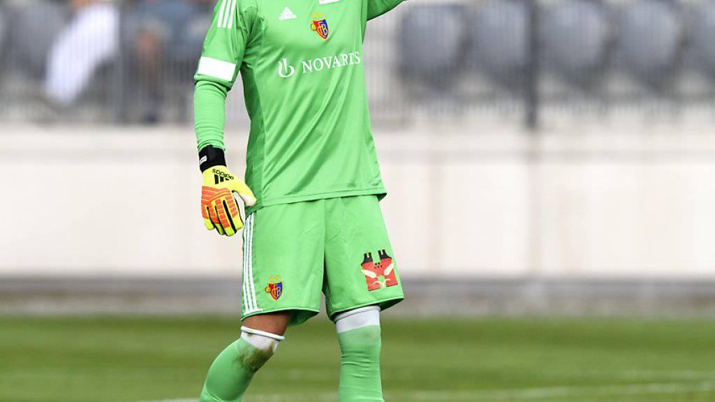 Jonas Omlin gehört erstmals zum Aufgebot der Schweizer Nationalmannschaft