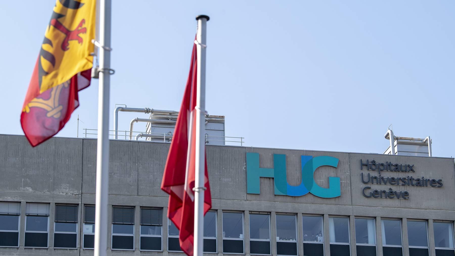 Das Genfer Universitätsspital (HUG) verzeichnete einen Anstieg der Krankenhauseinweisungen wegen Covid-19. (Symbolbild)