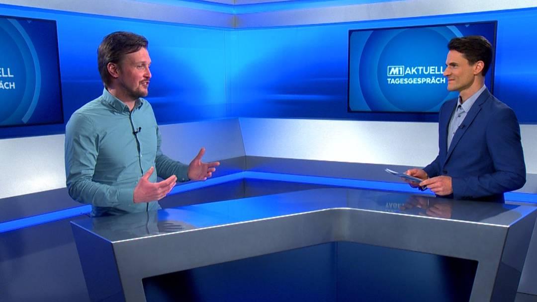 Der FC Aarau und die Trainerfrage: AZ-Sportredaktor Sebastian Wendel im Tagesgespräch bei Tele M1