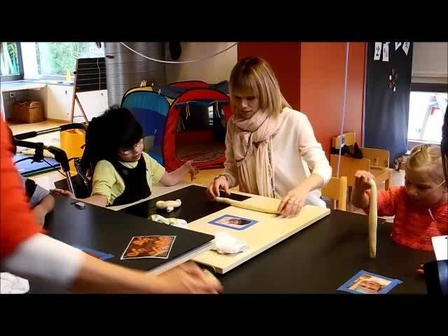 Francine Jordi zu Besuch im Blumenhaus Buchegg