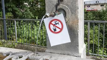 In 10 Prozent der 108 Wasserproben aus dem ganzen Kanton wurde der Grenzwert überschritten.