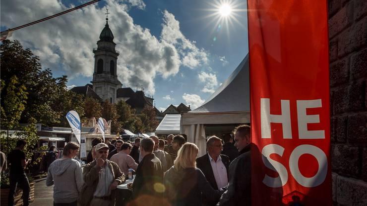 Nur wenige Wolken trübten den HESO-Himmel an der diesjährigen Herbstmesse Solothurn, die gestern zu Ende gegangen ist.