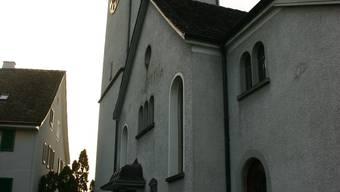 Die Reformierte Kirche in Weiningen.