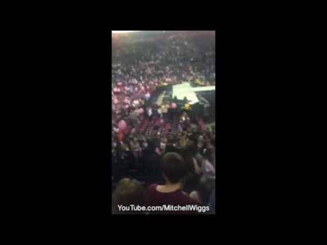 Nach der Explosion: Panik in der Manchester-Arena.