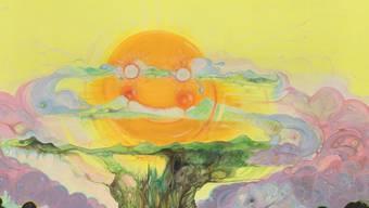 """Das Werk von Vidya Gastaldon, das der Ausstellung den Titel gab: """"Crazy, Cruel And Full Of Love"""""""