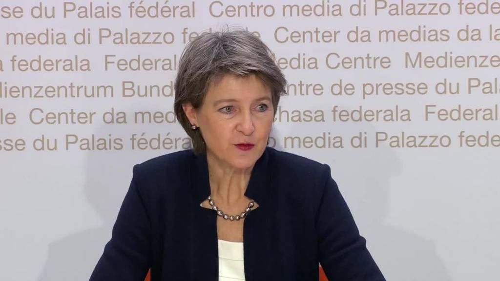 Komplette Pressekonferenz des Bundesrats vom 8. Dezember 2020