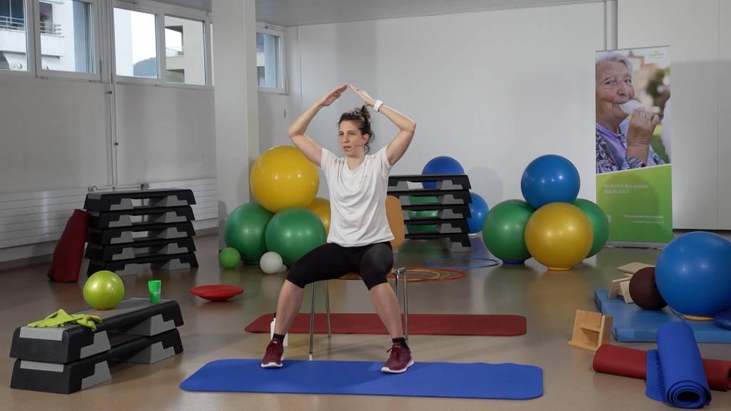 «Gymnastik im Wohnzimmer» vom 6. Juli 2021