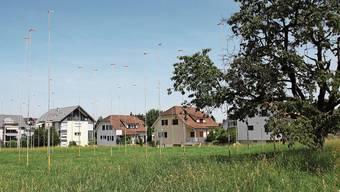 Total 29 Wohnungen will die Bauherrschaft auf der Weiermatt realisieren. Die Visualisierung zeigt, wie sich die Überbauung dereinst präsentieren wird.