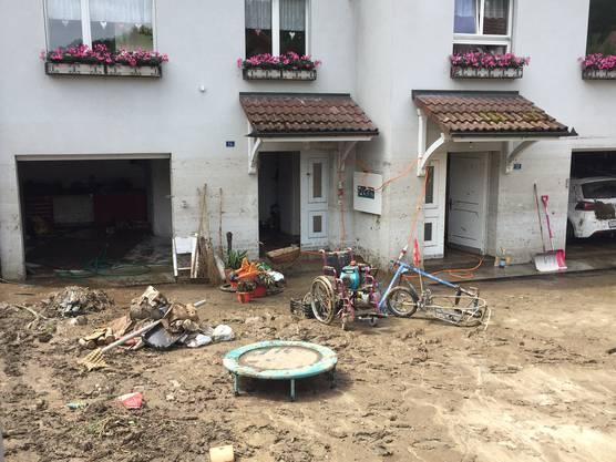 Grosse Schäden in Uerkheim.