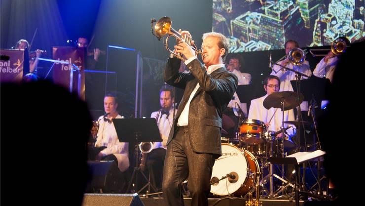 Dani Felber und seine Big Band Explosion treten in Langenthal auf.
