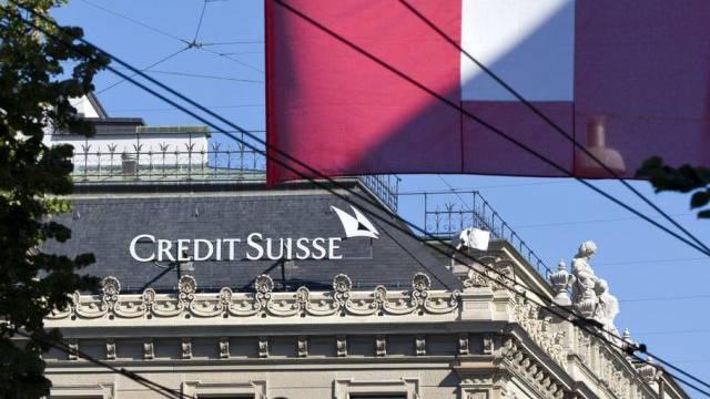Gebäude der Credit Suisse am Zürcher Paradeplatz