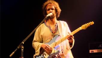 In der Konzertshow «The 27 Club» ist Jimi Hendrix ein Rechtshänder.