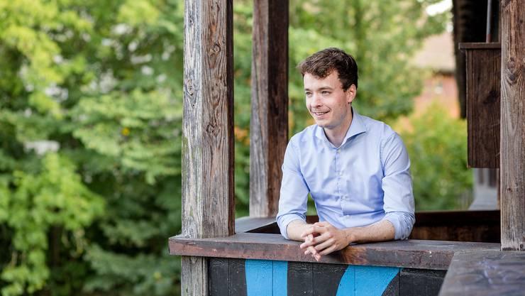 Adrian Schoop, Gemeindeammann von Turgi, ist für eine Fusion.