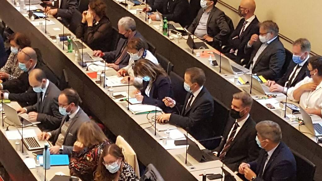 Der Bündner Grosse Rat hält auch die Februar-Session wegen der Corona-Pandemie in Davos ab.