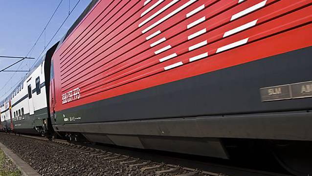 Ein Intercity-Zug der SBB (Symbolbild, Archiv)
