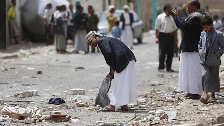 Jemens Hauptstadt Sanaa wird von einem Autobombenanschlag heimgesucht (Archiv)