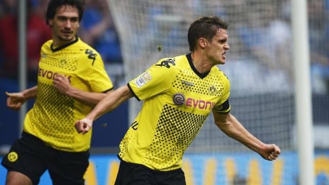 BVB-Captain Kehl schoss das siegbringende 2:1 gegen Schalke.