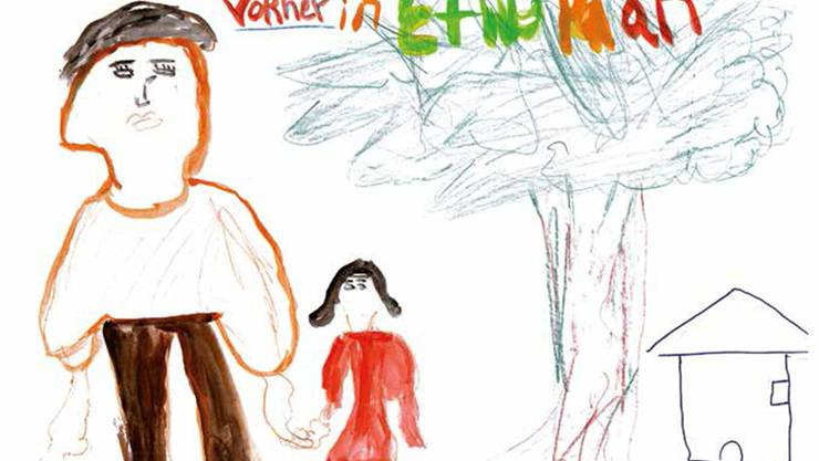 Viele der minderjährigen Asylsuchenden verarbeiten ihre Erfahrungen in Bildern und Texten.