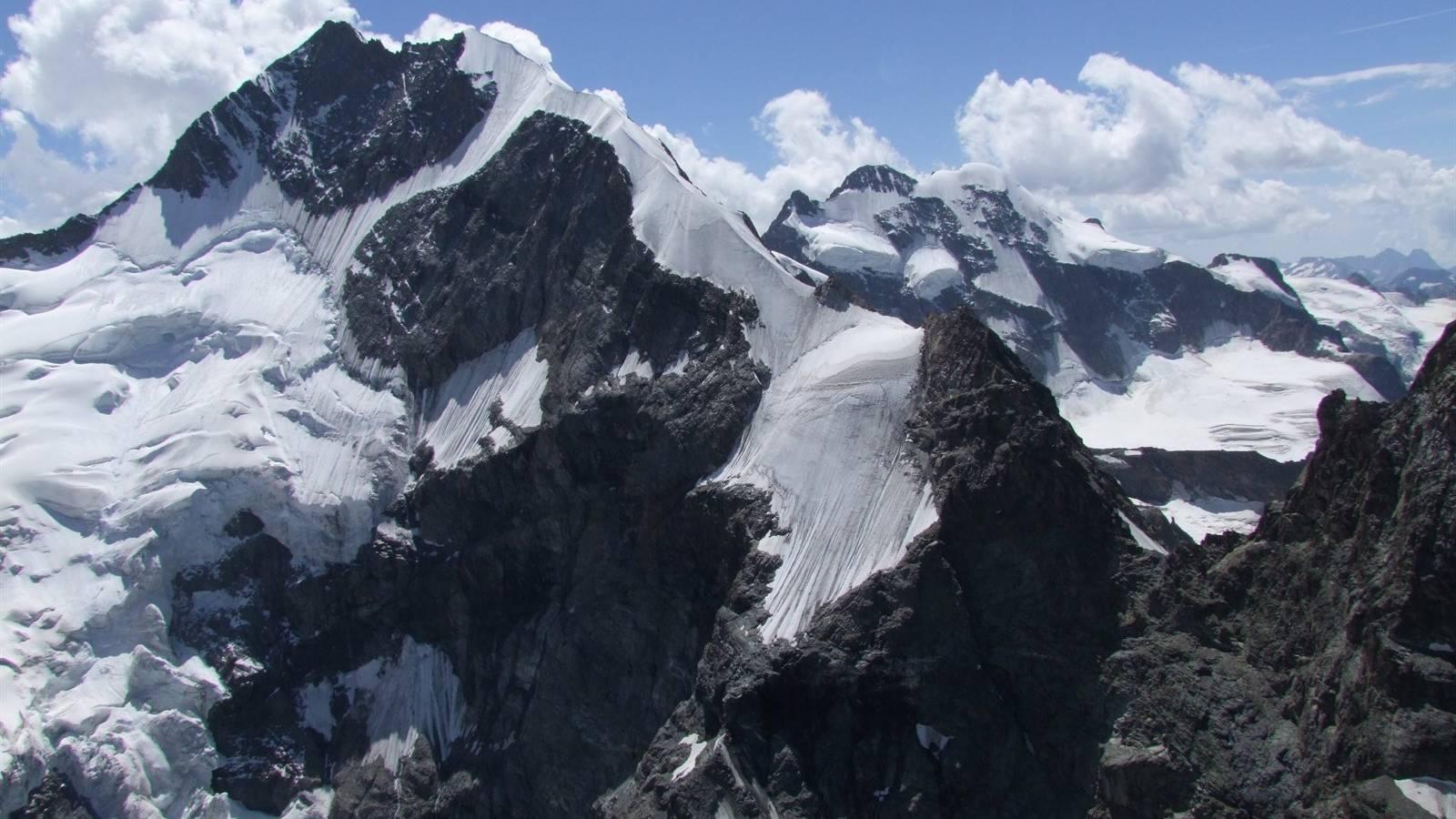 Der Biancograt am Piz Bernina wurde einer 32-jährigen Berggängerin zum Verhängnis.