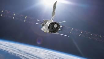 Die Merkursonde BepiColombo fliegt am Freitag an der Erde vorbei. Im Einsatzgebiet am Merkur wird sie erst 2025 erwartet. Ein Schweizer Höhenmesser ist eins der Instrumente an Bord, die hochpräzise 3D-Bilder schiessen sollen. (zVg)
