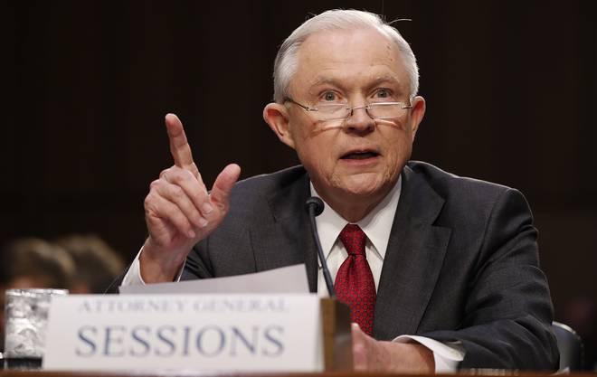 Schlägt zurück: Justizminister Jeff Sessions.