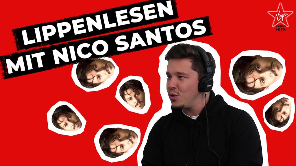 Lippenlesen mit Nico Santos