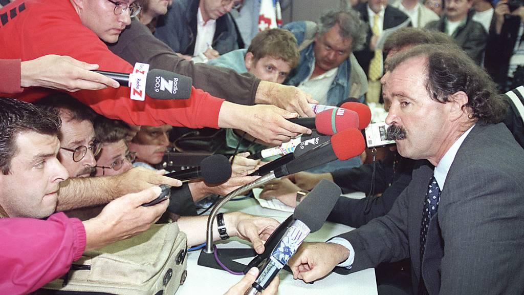 Artur Jorge sorgte mit seiner Nicht-Nomination von Alain Sutter und Adrian Knup für Schlagzeilen