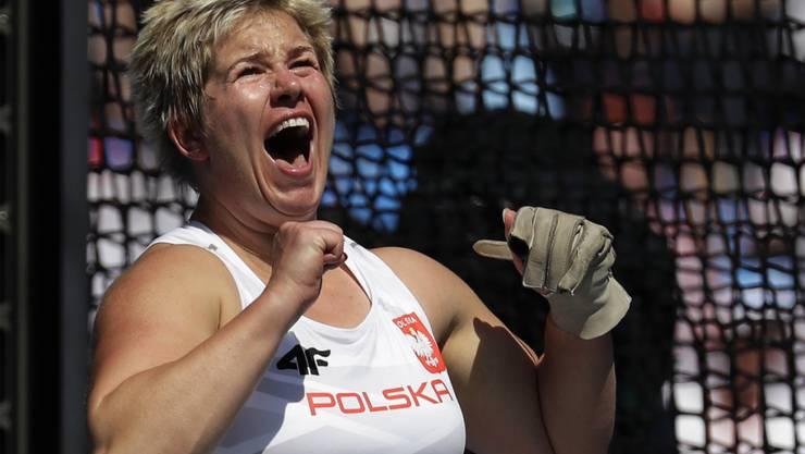Anita Wlodarczyk mit polnischem Power